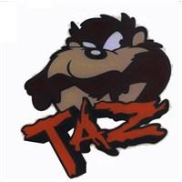 "Z tech "" TAZ "" Tazmanya Canavarı 3D Sticker"