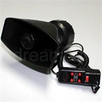 Dreamcar 100 Watt Mikrofonlu Polis Sireni 5 Sesli 64233