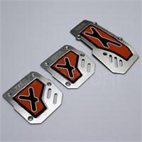 Dreamcar X-Type Pedal Seti Kırmızı 4503102
