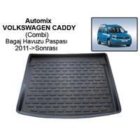 Automix Volkswagen Caddy Combi Bagaj Havuzu Paspası 2011->Sonrası