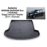 Automix Nissan Qashqai (7Koltuk) Bagaj Havuzu Paspası 2011->Sonrası