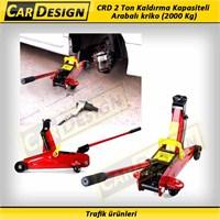 CarDesign 2 Ton Kaldırma Kapasiteli Arabalı kriko (2000 Kg)