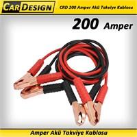 CarDesign 200 Amper Akü Takviye Kablosu