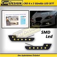 CRD Universal 6x2 SMD Ledli Gündüz Işığı Sis Lambası Seti