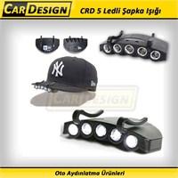 CRD Universal Şapka Işığı 5 Ledi