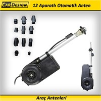 CRD Universal Otomatik Anten 12 Aparatlı