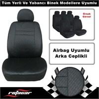 Rotacar Universal Oto Koltuk Kılıfı - Siyah