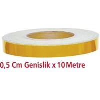 ModaCar 0,5 Cm Genişlik SARI Fosfor 10 Metre