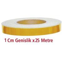 ModaCar 1 Cm Genişlik SARI Fosfor 25 Metre 540053