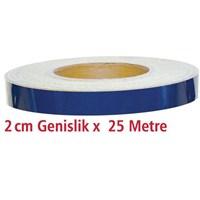 ModaCar 2 Cm Genişlik MAVİ Fosfor 25 Metre 840109
