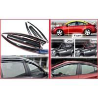 ModaCar AeroVisor® MUGEN STYLE Hyundai İX 35 Ön Arka Rüzgarlık Seti 42b079