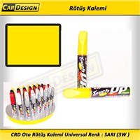 CRD Oto Rötüş Kalemi Universal Renk : SARI (3W )