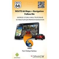 Route 66 Follow Me Premium Android Navigasyon Yazılımı (Türkiye Lisansı)
