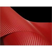 AutoFolyo Kırmızı Karbon Folyo 127X100 Cm