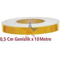 ModaCar Motorsiklet 0,5 Cm Genişlik Sarı 10 Metre 75c004