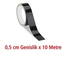 Modacar 0.5 Cm Genişlik Siyah Fosfor 10 Metre