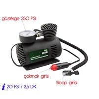 Modacar Şişirici Kompresör 20 Psı=3,5 Dk 250 Psı Lastik Şişirici 571402