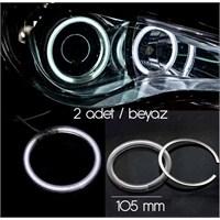 ModaCar Akrilik 105 mm Beyaz Angel Eye 610072