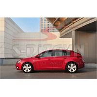 S-Dizayn Chevrolet Cruze Hb Cam Çıtası 6 Prç. P.Çelik (2011>)