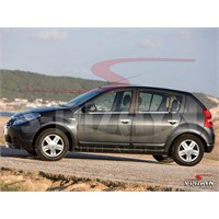 S-Dizayn Dacia Sandero Cam Çıtası 4 Prç. P.Çelik (2007 - 2013)