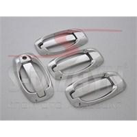 S-Dizayn Fiat Fiorino Kapı Kolu 4 Kapı 8 Prç. P.Çelik (Set) (2008>)