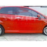 S-Dizayn Fiat Grande Punto Cam Çıtası 2 Prç. P.Çelik (Coupe)(2006>)