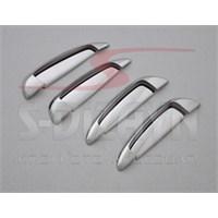 S-Dizayn Fiat Grande Punto Kapı Kolu 4 Kapı 8 Prç. P.Çelik (Çerçeveli)(2006>)