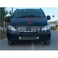 S-Dizayn Mercedes Vito W 639 Ön Panjur 7 Prç. P.Çelik (2004-2010)