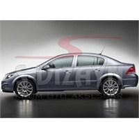 S-Dizayn Opel Astra H Cam Çıtası 4 Prç. P.Çelik SEDAN (2008>)