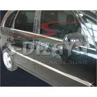 S-Dizayn Opel Meriva Yan Kapı Çıtası 4 Prç. P.Çelik (2002-2007)