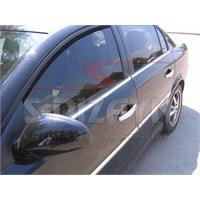 S-Dizayn Opel Vectra C Cam Çıtası 4 Prç. P.Çelik (2004>)