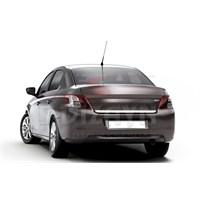 S-Dizayn Peugeot 301 Bagaj Alt Çıta P.Çelik (2012>)