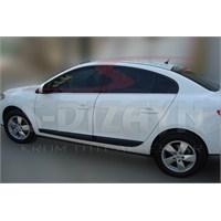 S-Dizayn Renault Fluence Cam Çıtası 4 Prç. P.Çelik (2010>)