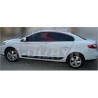 S-Dizayn Renault Fluence Cam Çerçevesi 4 Prç. P.Çelik (2010>)