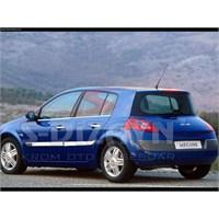 S-Dizayn Renault Megane-II Yan Kapı Çıtası 4 Prç. P.Çelik (Geniş) HB & SEDAN (2004-2005)