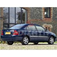 S-Dizayn Toyota Corolla Yan Kapı Çıtası 4 Prç. P.Çelik (2002-2007)