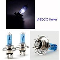 ModaCar H4 UZUN/KISA DIAMONDVISION 8000 Kelvin Ampül Seti 011163