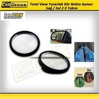 CRD Total Viem Yuvarlak Kör Nokta Aynası Sağ / Sol 2 li Takım