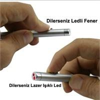 CRD Lazer ve Fener Anahtarlık (2 in 1)