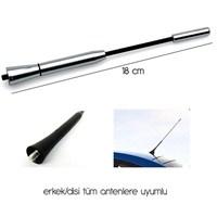 ModaCar 18 cm Nikelaj Anten Çubuğu 020005