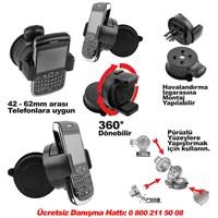 Automix Telefon Tutucu Vantuzlu 360 Derece Dönebilir
