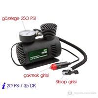 Mini 300 PSI Lastik Şişirici Hava Kompresörü 78402