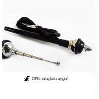 Carub Opel Otomobilere Uygun Gömme Teleskopik Anten