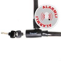 Tex 8105 Alarmlı Çelik Halat Kilit