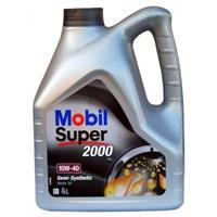 Mobil Süper 2000 X1 10W-40 4lt Benzinli Motor Yağı ( Üretim Yılı : 2017)
