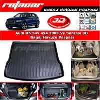 Audi Q5 Suv 4x4 2009 Ve Sonrası 3D Bagaj Havuzu Paspası BG03