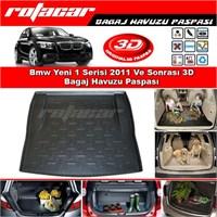 Bmw Yeni 1 Serisi 2011 Ve Sonrası 3D Bagaj Havuzu Paspası BG06