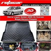 Dacia Logan Sedan 2005 Ve Sonrası Bagaj Havuzu Paspası BG038