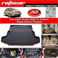 Fiat Albea Sedan 2002 Ve Sonrası Bagaj Havuzu Paspası BG050