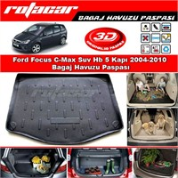 Ford Focus C-Max Suv Hb 5 Kapı 2004 2010 Bagaj Havuzu Paspası BG061